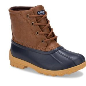 NEW Sperry Toddler Port Boot